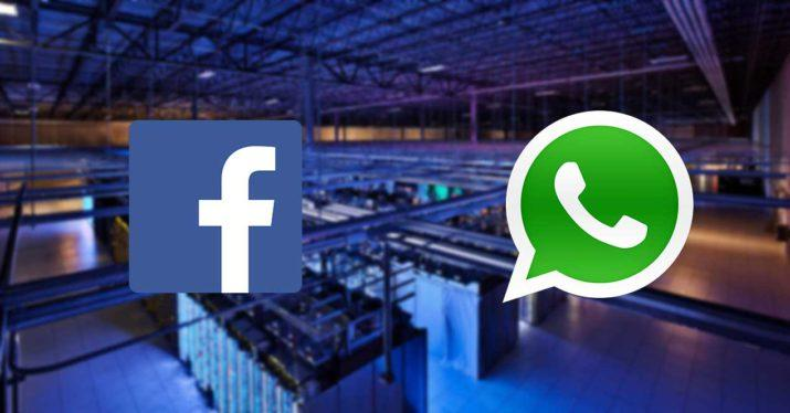 facebook whatsapp servidores