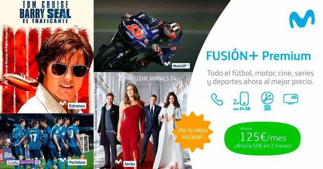 Ver noticia 'Nueva promoción de Movistar con 25 euros de descuento en Fusión+ Premium'