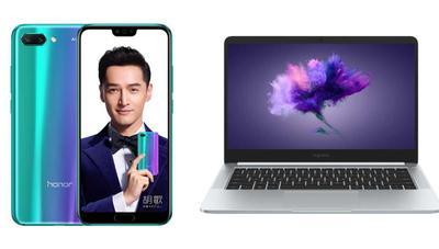 Honor 10 y Honor MagicBook: nuevo móvil con notch y portátil ligero para competir con Xiaomi