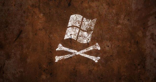 Piratería Microsoft