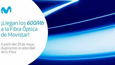 Movistar mantiene hasta el 65% de descuento en sus tarifas de sólo fibra, pero ahora 6 meses