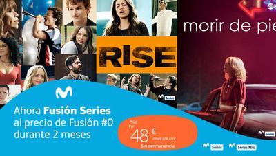 Movistar Fusión Series a precio de Fusión #0 durante dos meses