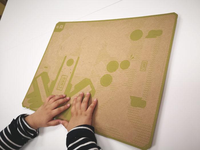 nintendo labo plancha carton