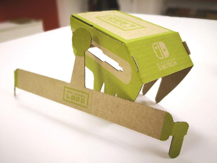 nintendo labo juguete carton antenauta