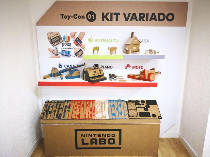 nintendo labo kit variado componentes