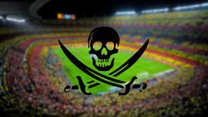 El fútbol representa el 3% del contenido pirateado en España, y no para de caer