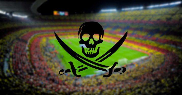 pirateria futbol