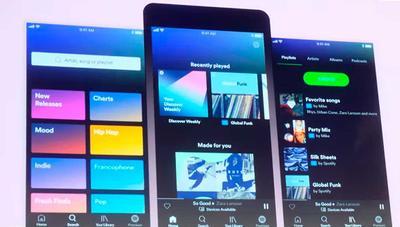 Nuevo Spotify para móviles: más música gratis y mejoras del modo aleatorio