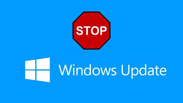 stopupdates10 windows 10