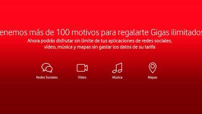 Vodafone Superpass gratis con gigas ilimitados para los clientes que gasten más de 100 euros