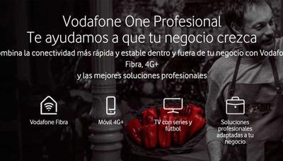 Las tarifas Vodafone Profesional ahora cuentan con Social Pass y llamadas internacionales