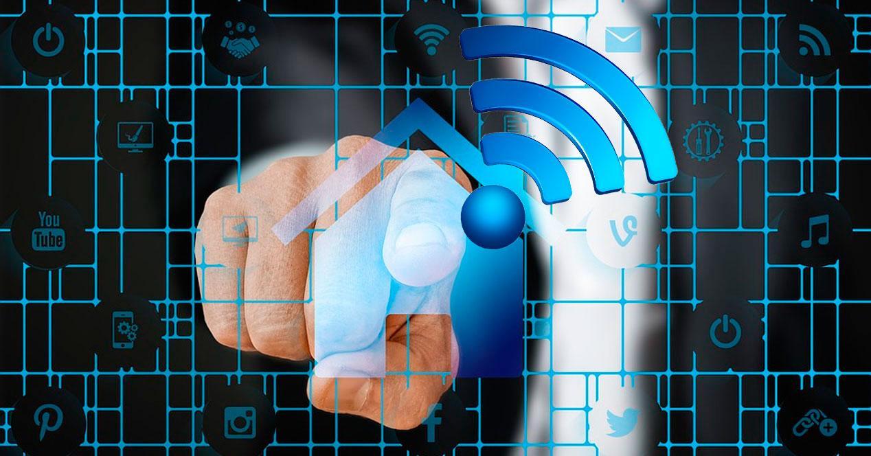 ampliar la señal WiFi