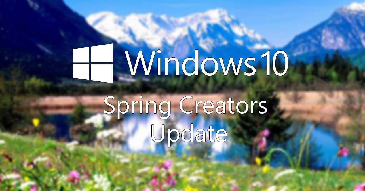 Windows 10 Spring Creator Update