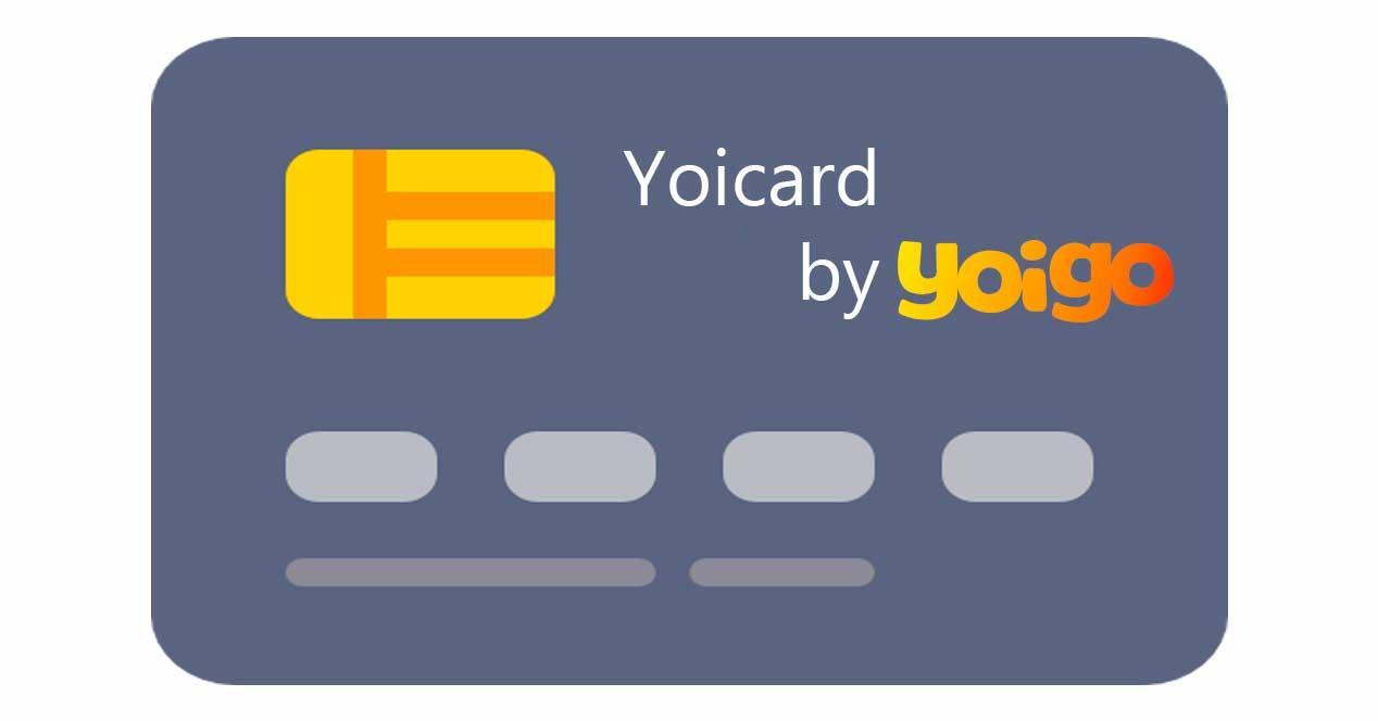 yoicard yoigo