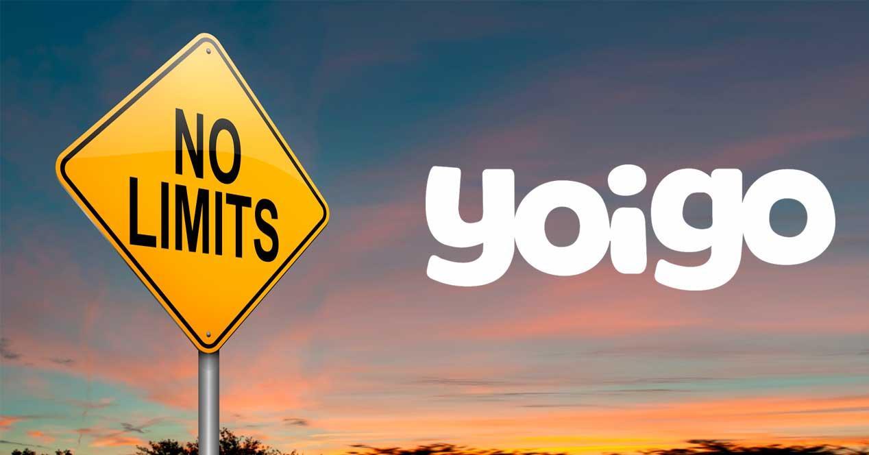 yoigo limites tarifa ilimitada de datos