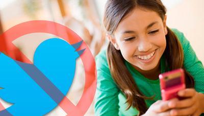 Twitter comienza a bloquear usuarios que crearon su cuenta con menos de 13 años