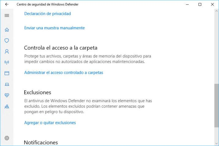 proteger carpetas en windows 10