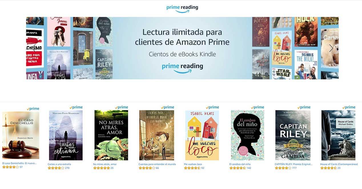 Amazon Prime Reading: Descargar Libros Gratis Incluido Con Prime  @tataya.com.mx