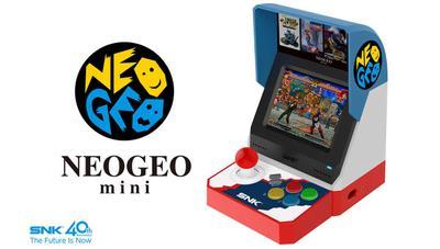 Anunciada la Neo Geo Mini: tu propia recreativa en miniatura cargada de juegos