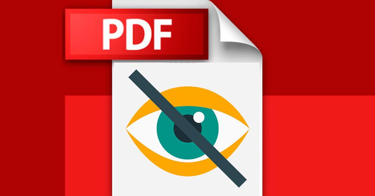ocultar páginas de un PDF