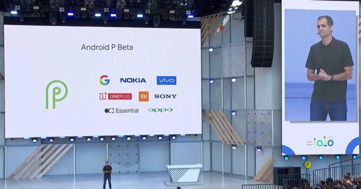 android p beta anuncio