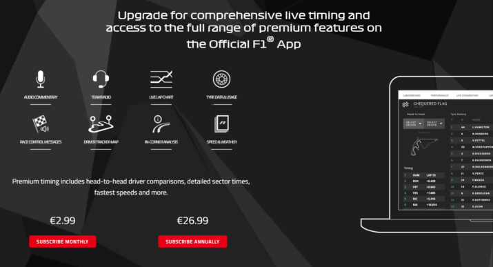 f1 tv access