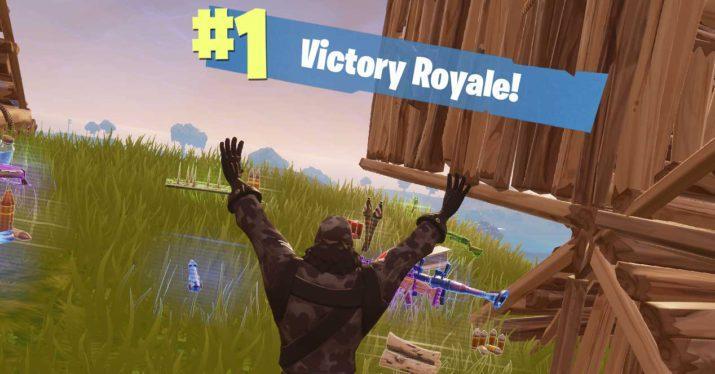 fortnite victory