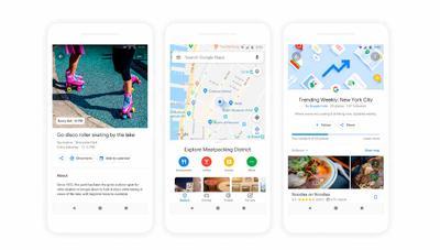 Novedades Google Maps: recomendaciones personalizadas, votaciones entre amigos y más
