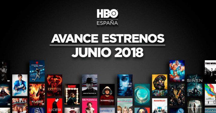 Estrenos HBO junio 2018 en España