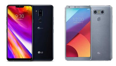 Comparativa: LG G7 ThinQ frente a LG G6, Galaxy S9, iPhone X, Huawei P20 Pro, Xperia XZ2 y Xiaomi Mi Mix 2S