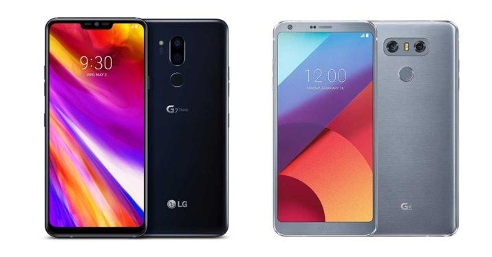 lg g7 vs lg g6