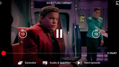 Netflix estrena rediseño con posibilidad de avanzar o retroceder 10 segundos y pasar al siguiente episodio