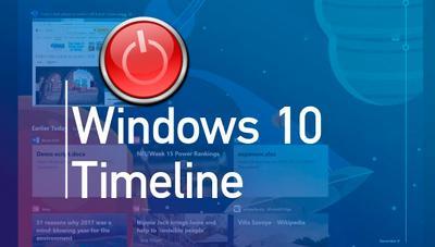Cómo desactivar el Timeline o Línea de Tiempo de Windows 10