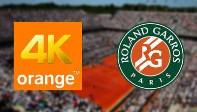 Roland Garros se verá en 4K en Orange TV a través de Eurosport 4K