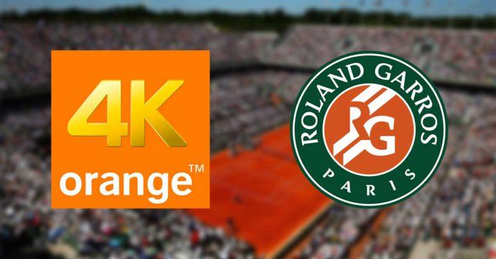 orange 4k roland garros eurosport
