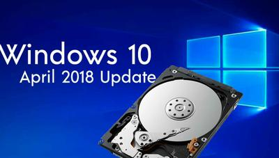 Cómo eliminar la partición de la instalación de Windows 10 April 2018 Update del explorador de archivos