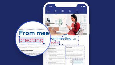 ¿Es posible editar el texto de un PDF en un iPhone? ¡Sí!