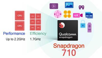 Qualcomm Snapdragon 710: los 10 nm llegan a la gama media con un 40% menos de consumo
