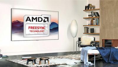 Samsung añade FreeSync a sus TV QLED de 2018: más fluidez en tus juegos