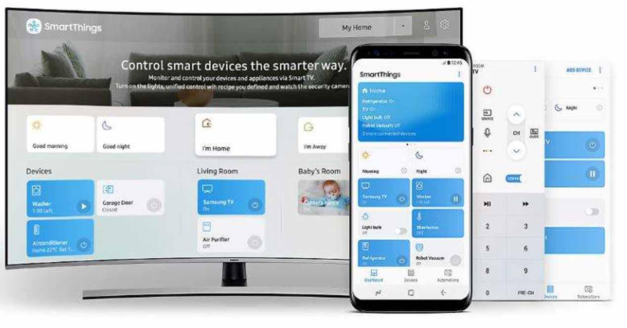 Samsung convierte sus televisores en la 'central de domótica' de tu casa