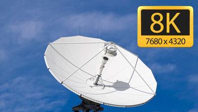 Realizan la primera prueba de TV en 8K en Europa a través de satélite