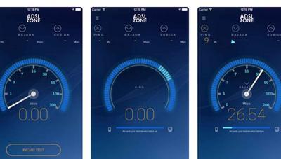 Nuevo Test de Velocidad compatible con la nueva velocidad de la fibra óptica y en iPhone X