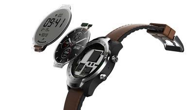 Ticwatch Pro: un smartwatch con Wear OS y dos pantallas para ahorrar batería
