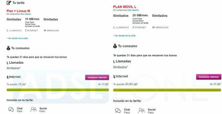 Vodafone aumenta gratis los gigas para navegar en algunas ...