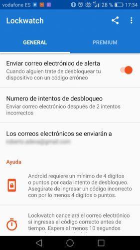 desbloquear el móvil