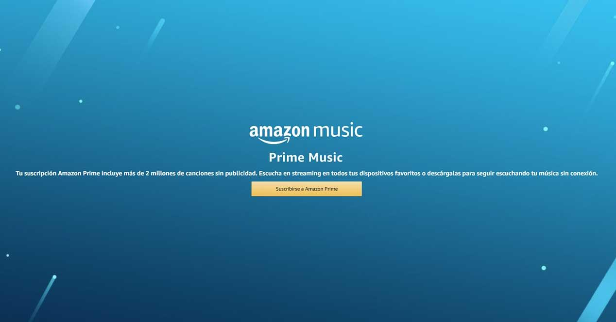 Amazon lanza Prime Music sin coste adicional para los usuarios Prime