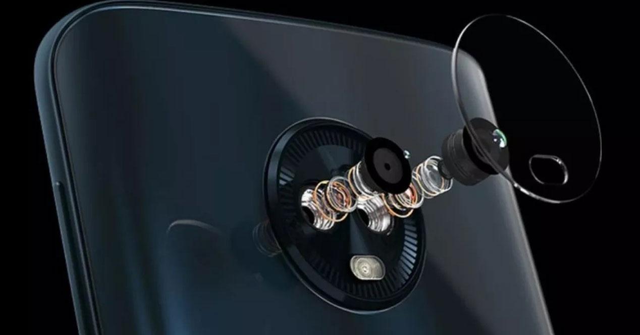 camara motorola moto g6 en piezas