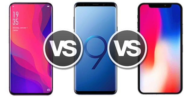 Ver noticia 'Oppo Find X, así se enfrenta el móvil todo-pantalla al iPhone X y el Samsung Galaxy S9+'