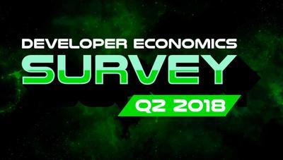 Participa en la encuesta Developer Economics Q2 2018: comparte tu opinión y gana docenas de premios