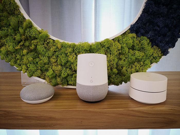 google home y google wifi